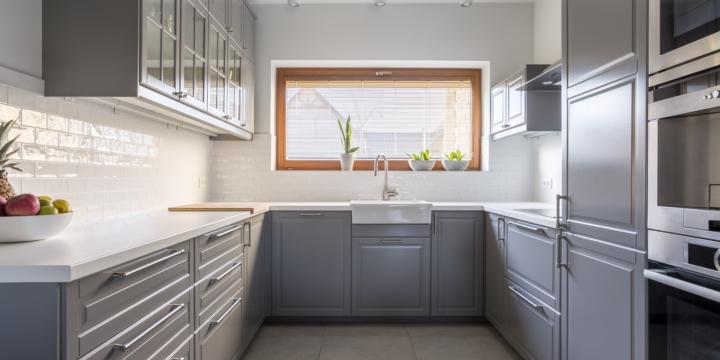 kitchen renovation gray kitchen