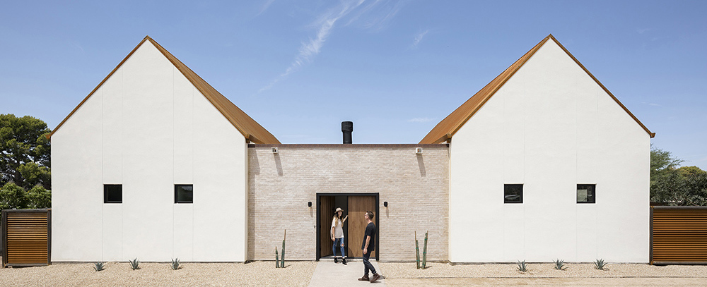 transcontemporary home canal house the ranch mine