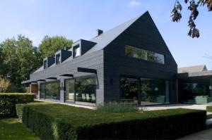 transcontemporary home single color home