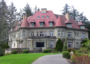 French Style Homes The Pittock Mansion